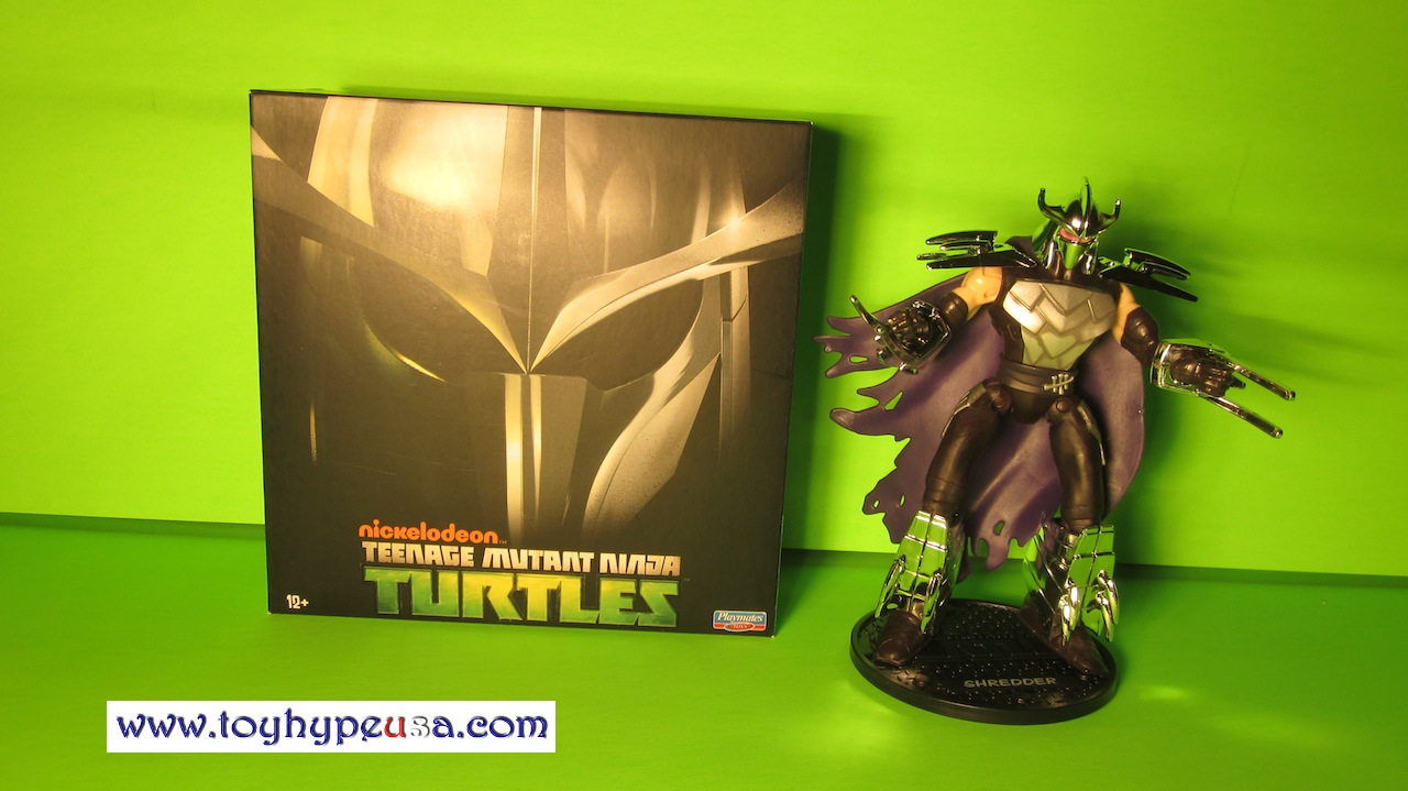sdcc 2013 teenage mutant ninja turtles shredder review toy hype usa