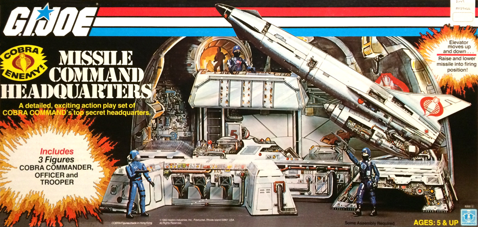 Cobra Missile Command Headquarters 1982 Sears Exclusive 3D View By