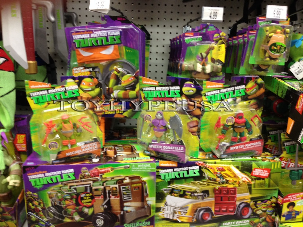 Nickelodeon Teenage Mutant Ninja Turtles Mystic Turtles Found At