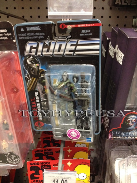 """4/"""" GI JOE B.A.T Android General Clayton Commander Blowtorch Action Figure"""