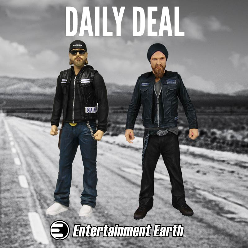 """Sons of Anarchy Mezco Toyz Clay Action Figure Entertainment Earth Exclusive 6/"""""""