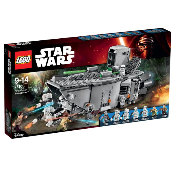 Update Lego Reveals Star Wars The Force Awakens Sets First Order
