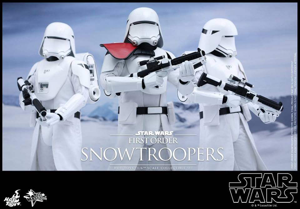 "Star Wars The Black Series FIRST ORDER SNOWTROOPER HEAD PROTOTYPE FOR 6/"" FIGURE"
