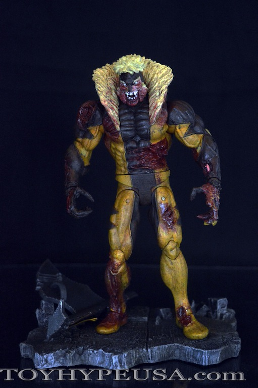 Zombie Sabretooth Marvel Select Action Figure DIAMOND SELECT TOYS