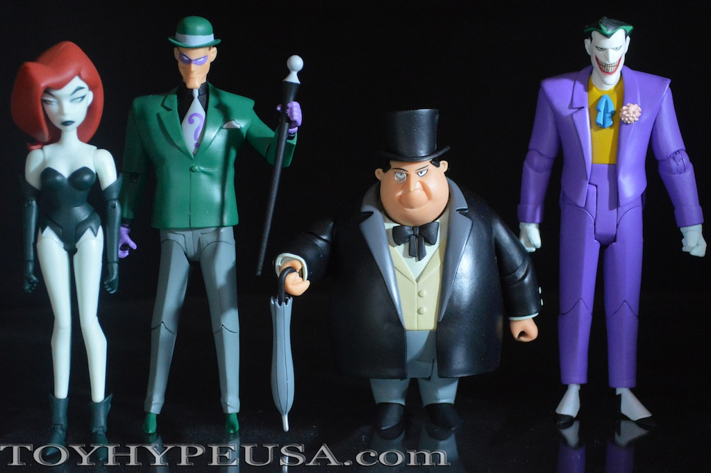 The Riddler Action Figure The Animated Series DC Collectibles Batman