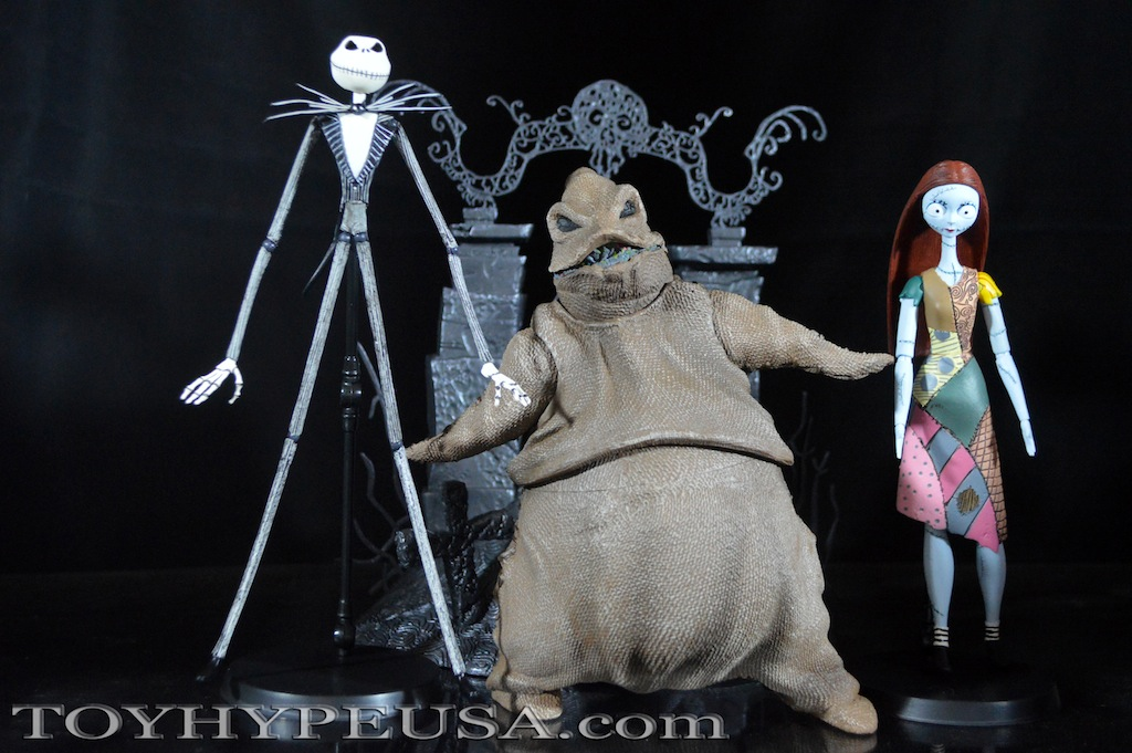 diamond select toys the nightmare before christmas select jack sally and oogie boogie - The Nightmare Before Christmas Jack And Sally