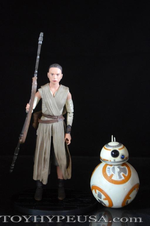 Star Wars Exclusive Rey & BB-8 Elite Series Die Cast Figure Review