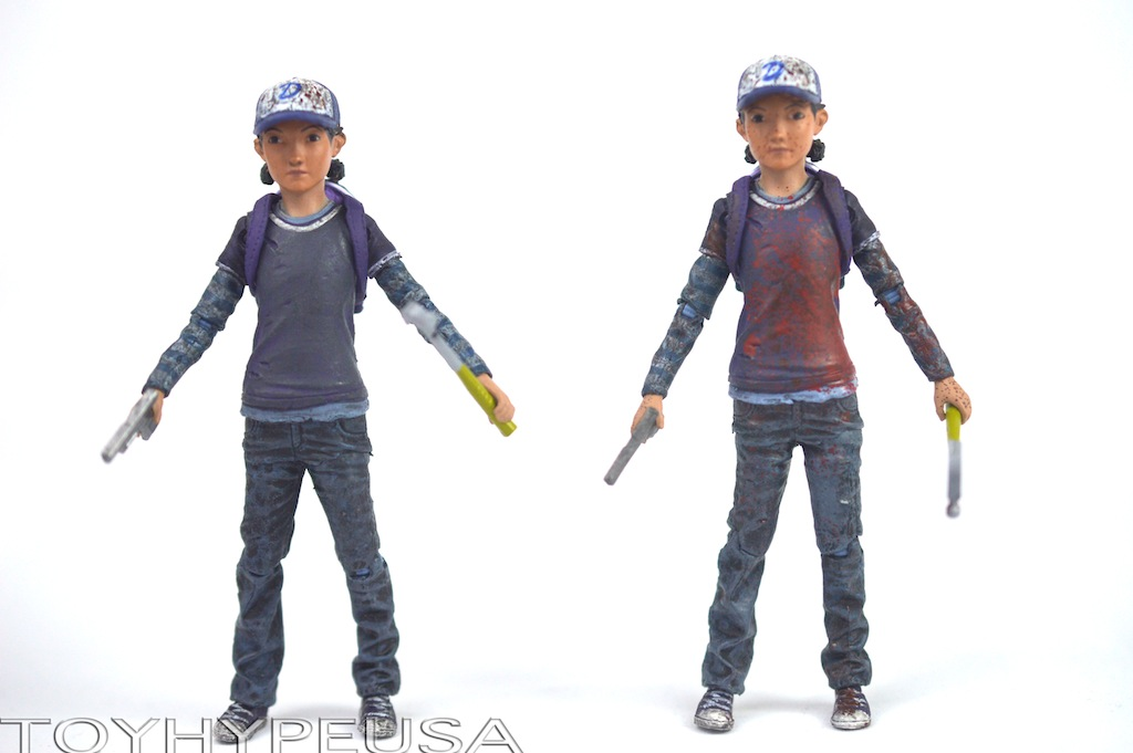 The Walking Dead Clémentine Skybound Exclusif Mcfarlane Figurine Articulée