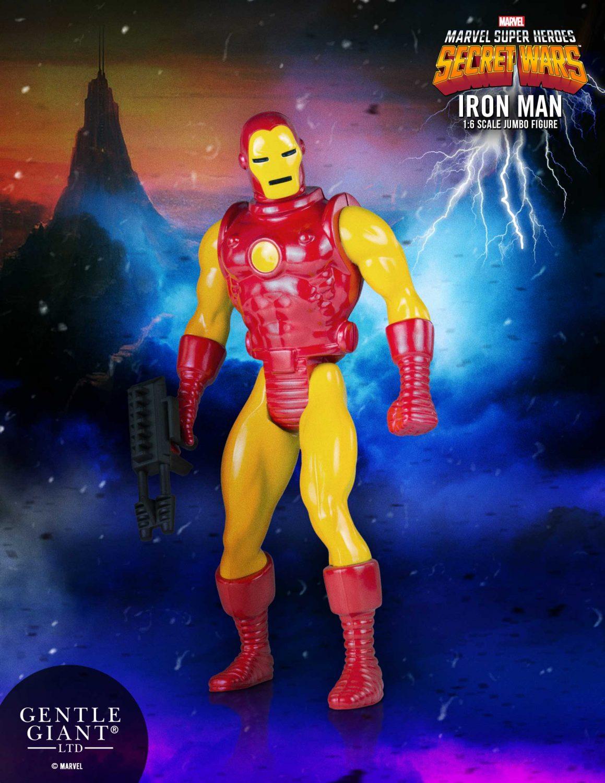 Marvel Captain America Secret Wars Jumbo figures par Gentle Giant
