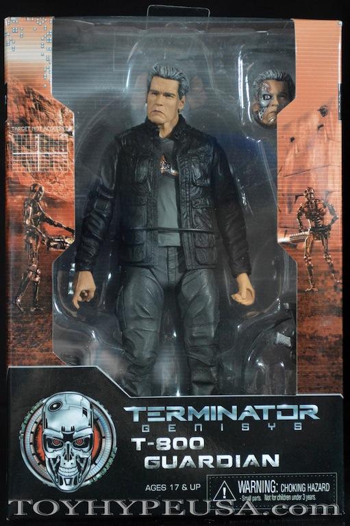 "TERMINATOR Genisys T-800 GUARDIAN NUOVO POPS//Arnold Schwarzenegger 7/"" NECA 2017"