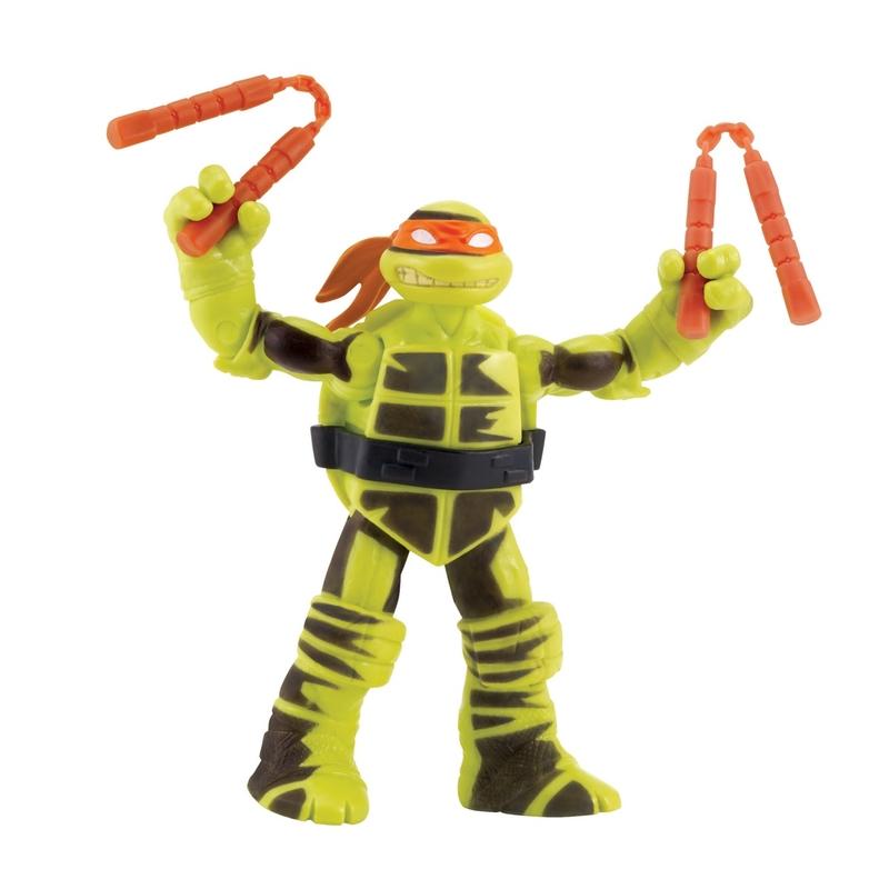 teenage mutant ninja turtles shadow ninja color change mikey leo