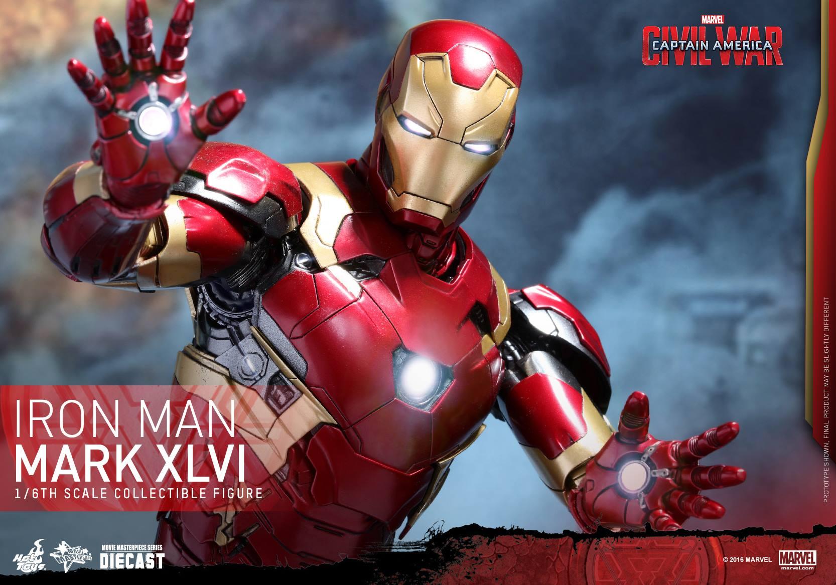 Iron man mark 46 Repulsor Hand 9tA9X
