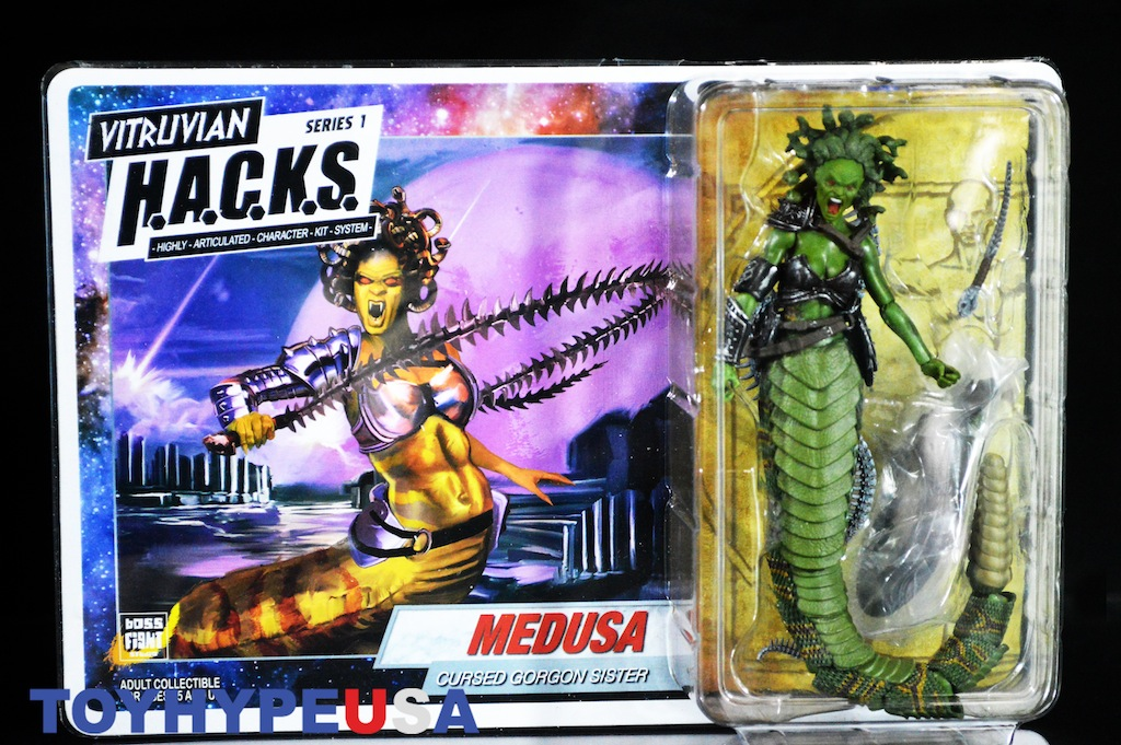 Boss Fight Studio Vitruvian H A C K S  Series 1 Medusa