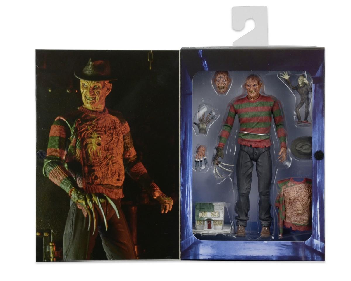 Neca a nightmare on elm street 3 Ultimate Freddy Krueger Figure /& Set Accessoire