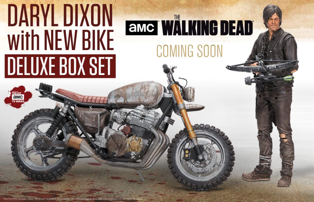 Daryl Dixon With New Bike McFarlane Toys The Walking Dead TV