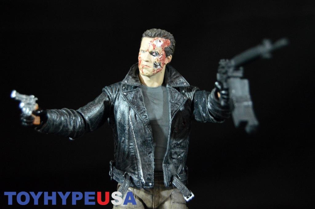 T-800 Terminator Police Station Assault Judgement Day 25th 3D Action Figur Neca