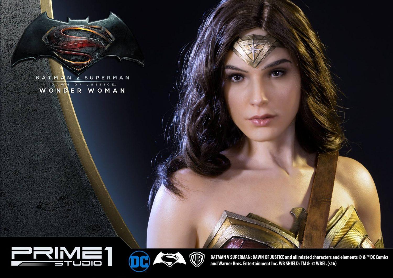 Prime 1 Studio Batman Vs Superman Dawn Of Justice Wonder Woman Statue Pre Orders