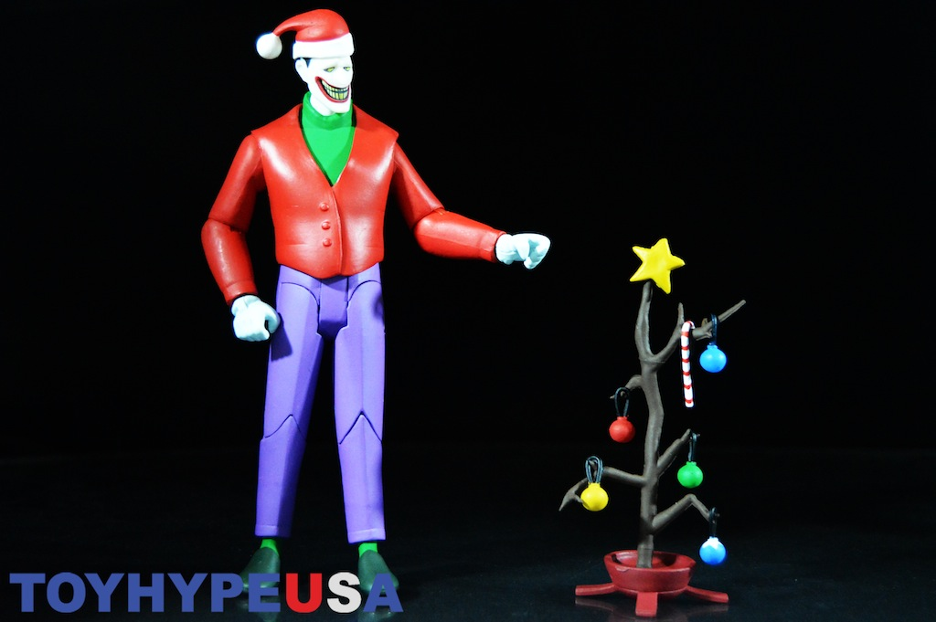 Christmas With The Joker.Dc Collectibles Batman The Animated Series Holiday Joker