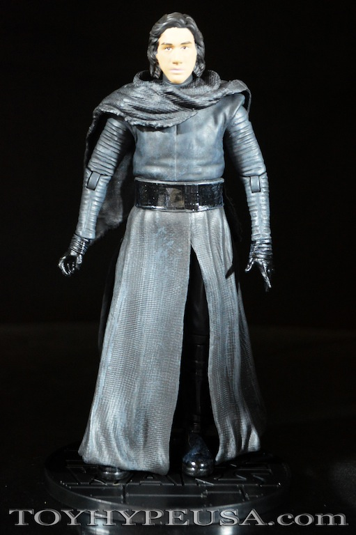 Star Wars Exclusive Kylo Ren Unmasked Elite Series Die Cast Figure