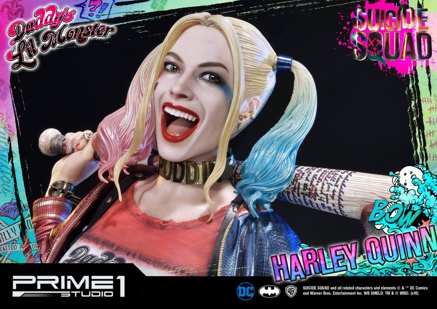 DC GALLERY SUICIDE SQUAD HARLEY QUINN STATUE 25 cm