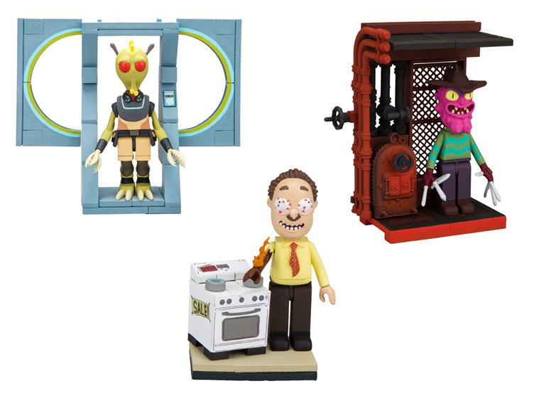 Rick And Morty /'Scary Terry/' Construction Set McFarlane Toy Set NEW
