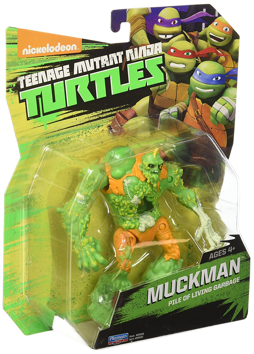 Playmates Toys Teenage Mutant Ninja Turtles Muckman Figure 11 99