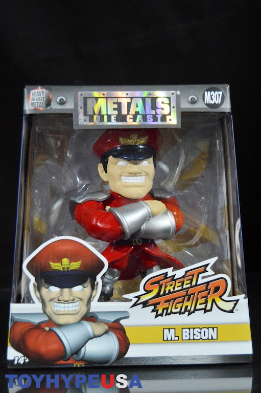 "New Release Jada Metals 4/"" Die Cast Figure Capcom Street Fighter RYU M305"