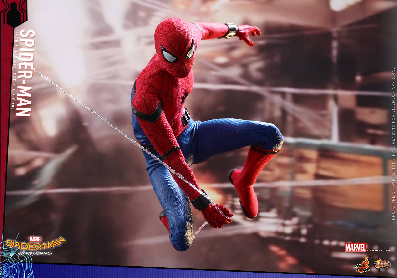 Hot Toys Spider Man Homecoming Sixth Scale Figure Toy Hype Usa