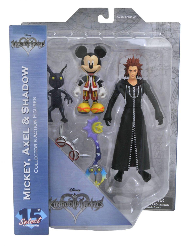 Diamond Select Toys Disney Kingdom Hearts Mickey Mouse w// Pluto Exclusive Figure