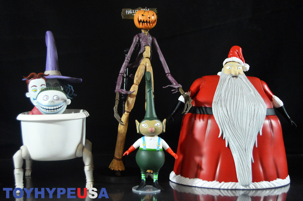 diamond select toys the nightmare before christmas select series 3 review - Nightmare Before Christmas Characters