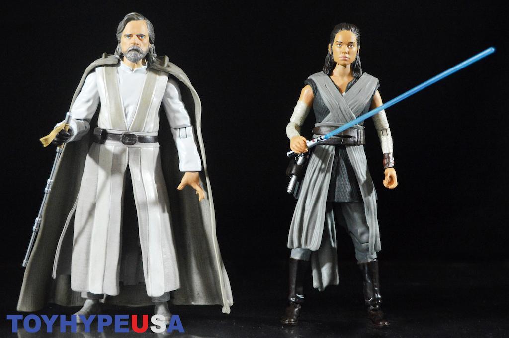 Disney Store Exclusive Star Wars The Last Jedi Luke Skywalker Rey Figures Review