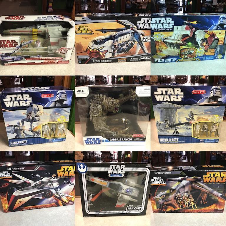 Star Wars 2010 Walmart Exclusive JABBA/'S THRONE w// OOLA Legacy Playset MISB