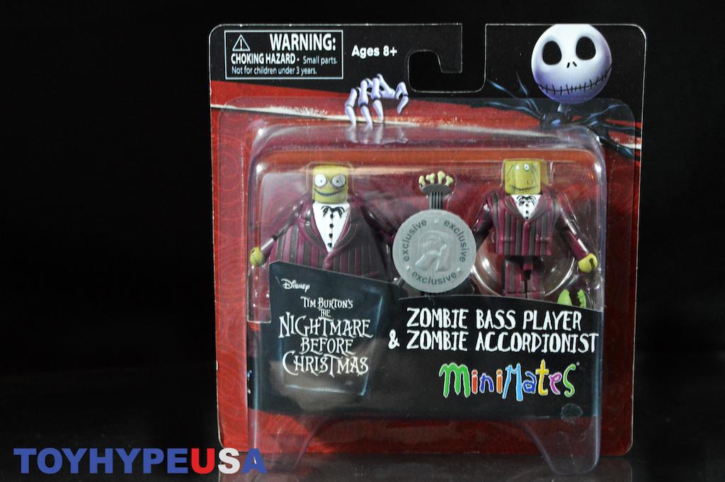 Nightmare Before Christmas Zombie.Nightmare Before Christmas Minimates Tru Wave 4 Zombie Bass