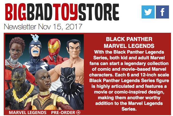 BigBadToyStore: Black Panther, Transformers, Star Trek, Hot