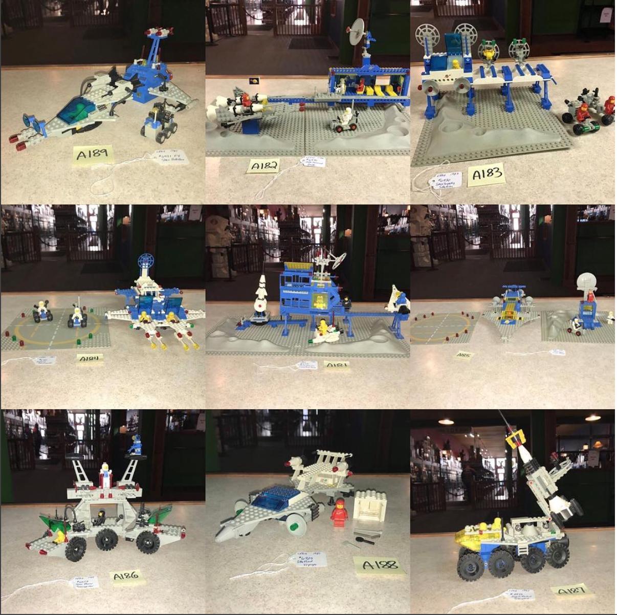 Kokomo Toys eBay Store – Vintage Late 70's & 80's LEGO Space Sets