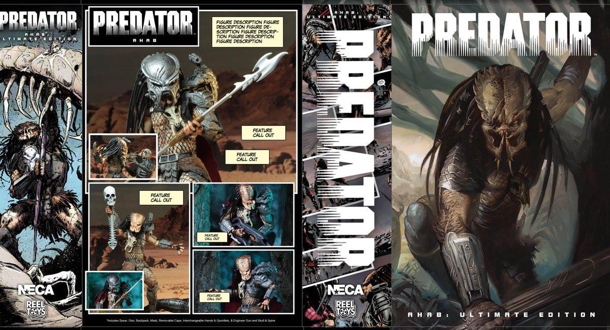 Neca Predator Ultimate Ahab Predator 7 inch Action Figure