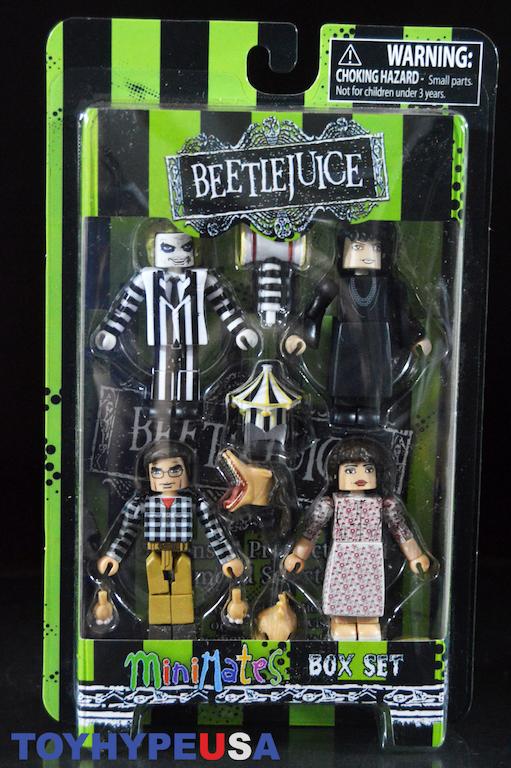BEETLEJUICE film Minimates série 1 Beetlejuice