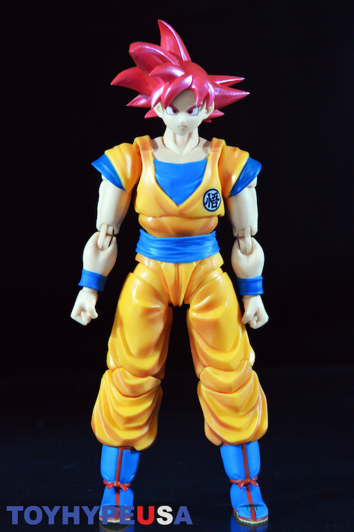 SHF Dragon Ball Z Red Super Saiyan God Red Son Gokou Action Figure New In Box