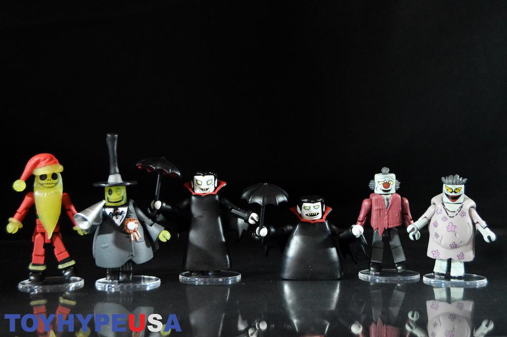 Nightmare Before Christmas Minimates TRU Wave 5 Tall Vampire /& Short Vampire