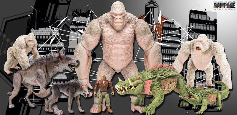 rampage movie toys walmart