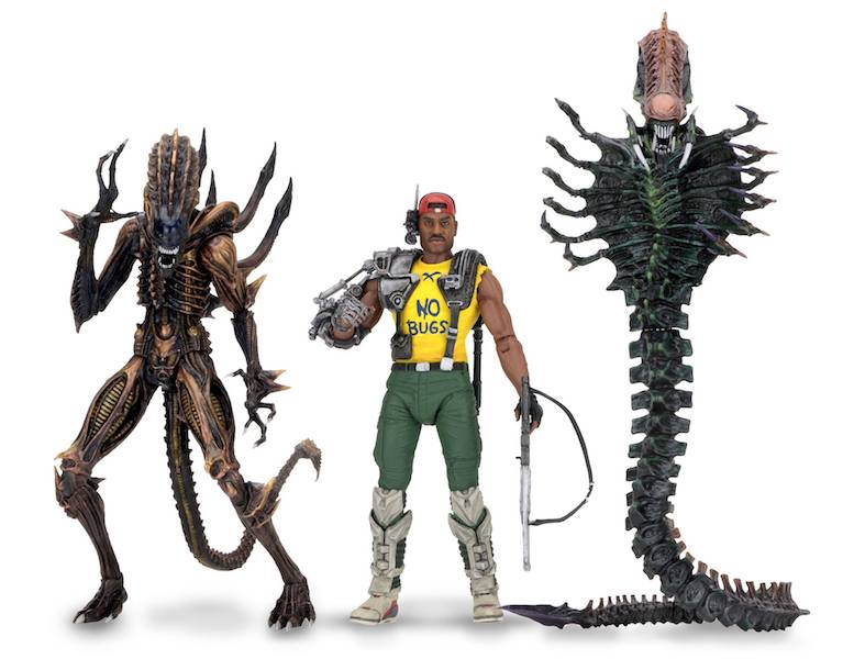 "NECA Scorpion Alien w Bendable Tail 7/"" Action Figure Series 13 Aliens Collection"