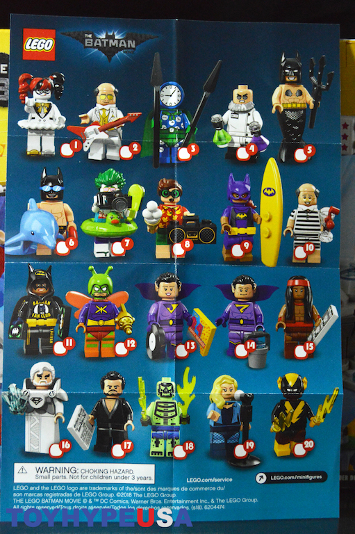 LEGO BATMAN MOVIE DC The Justice League Anniversary Party 70919 STICKER SHEET