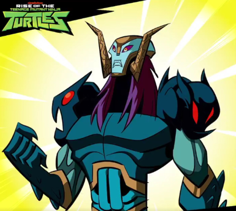 Nickelodeon Reveals Rise Of The Teenage Mutant Ninja Turtles Baron Draxum Villain