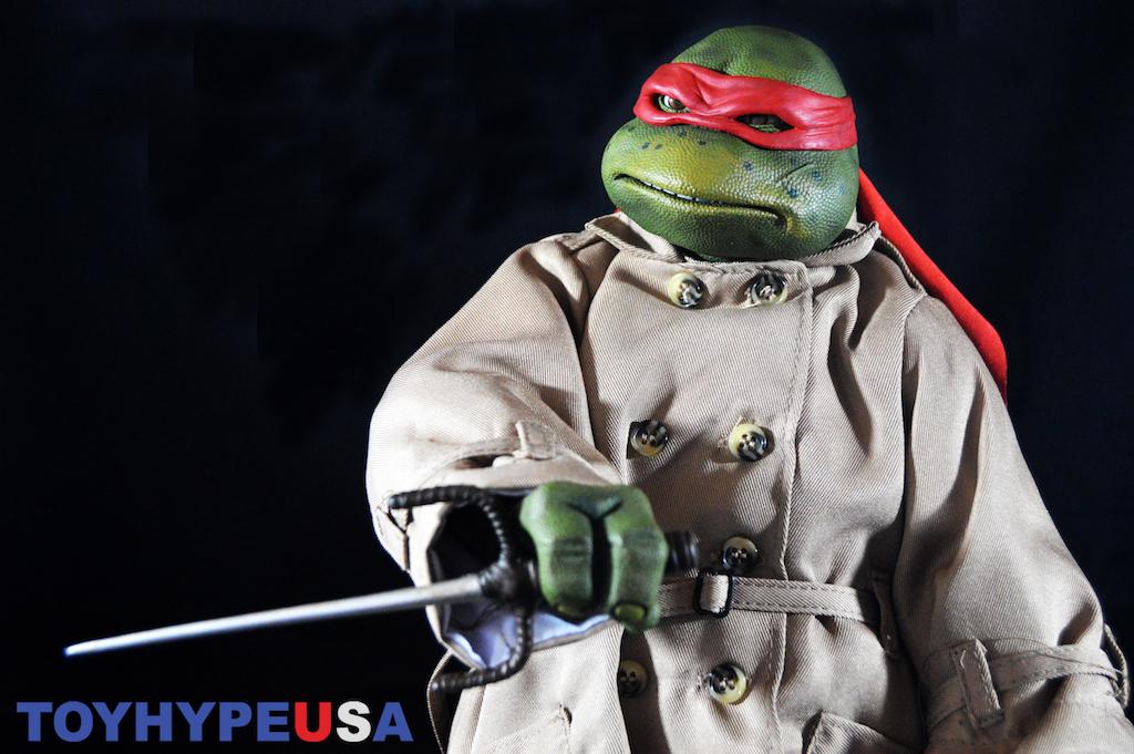 NEW Teenage Mutant Ninja Turtles Movie Raph In Disguise Action Figure TMNT