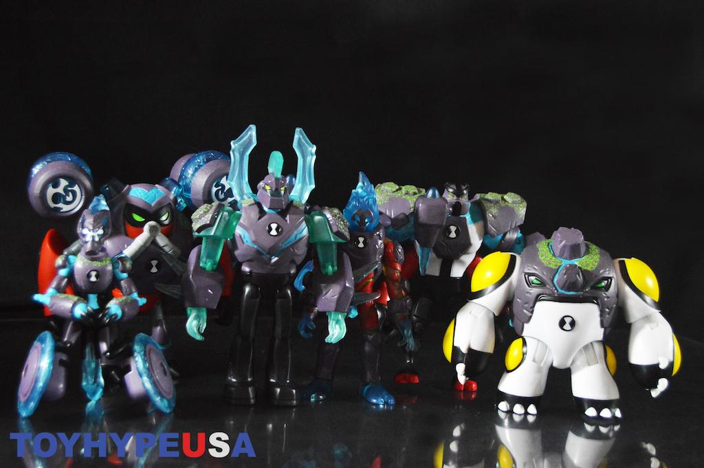 playmates toys ben 10 series 4 omni enhanced overflow xlr8