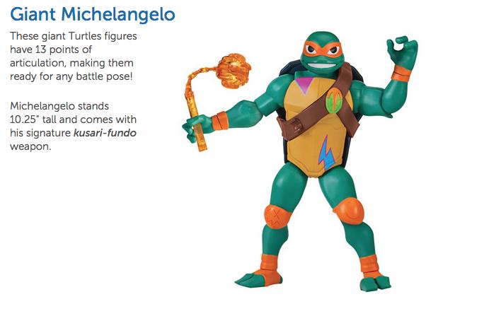 Playmates Toys All-New Teenage Mutant Ninja Turtles Toys Rise To
