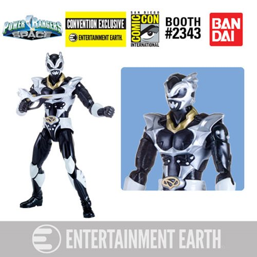 entertainment earth sdcc 2018 exclusive power rangers in space legacy psycho silver ranger figure toy hype usa