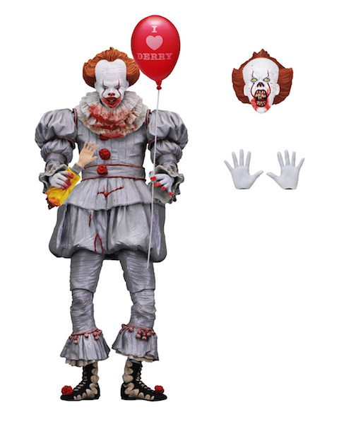 Neca Toys It 7 Scale Ultimate Pennywise Gamestop Exclusive Figure