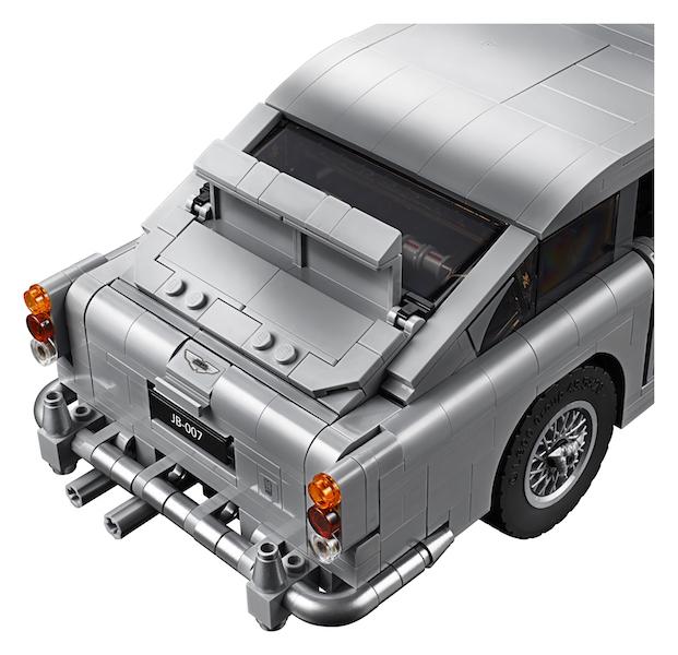 Lego Announces James Bond Aston Martin Construction Set Toy Hype Usa