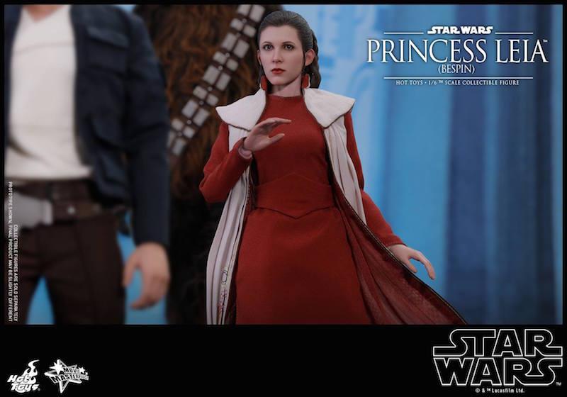 Hot Toys Star Wars The Empire Strikes Back Bespin Princess Leia